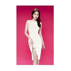Đầm Ôm Body Xẻ Tà Thiết Kế Giống Ngọc Trinh 2195