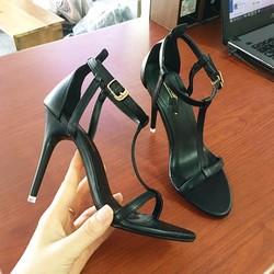 Giày sandal cao gót hàng hiệu loại 1