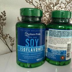Mầm đậu nành estrogen Non-GMO Soy Isoflavones 120 viên
