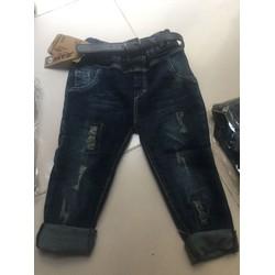 quần jean mềm co gian