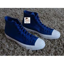 Giày vải cao cổ xanh dương CVXD07