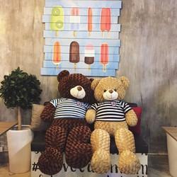 Gấu bông teddy 90cm
