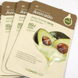 Mặt nạ bơ - Thefaceshop Real Nature Mask Avocado