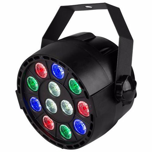 Đèn sân khấu Led mini Par Light 12 Led cảm ứng âm thanh