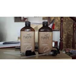 Cặp dầu gội và xả Nashi siêu mượt 500ml