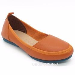 Giày mọi da thật siêu êm