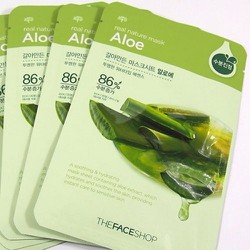 Mặt nạ lộ hội - Thefaceshop Real Nature Mask Aloe