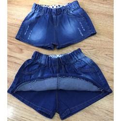 Quần váy jeans wash đùi s1-10