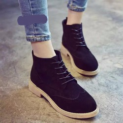 Giày BOOT da lộn
