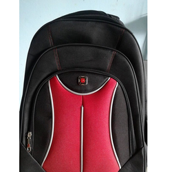 [sale] Balo nam nữ - balo laptop 3 ngăn [màu đỏ]