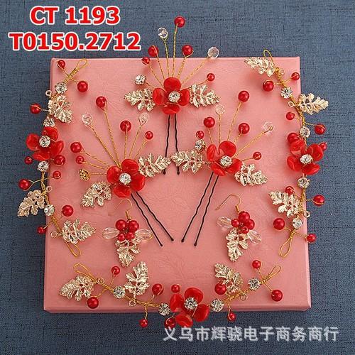 Cài tóc cô dâu vàng đồng hoa đỏ - 4130998 , 4708423 , 15_4708423 , 150000 , Cai-toc-co-dau-vang-dong-hoa-do-15_4708423 , sendo.vn , Cài tóc cô dâu vàng đồng hoa đỏ