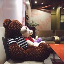 Gấu bông Teddy 90cm- nâu