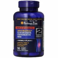 Puritans Pride Glucosamine chondroitin with msm 90 viên bổ sụn khớp