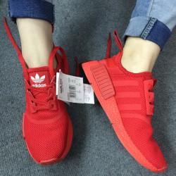 Giày thể thao NMD all red, màu đỏ tất, nam