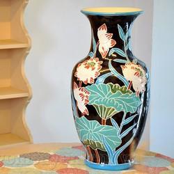 lọ hoa bình gốm đồ dùng trang trí phòng khách