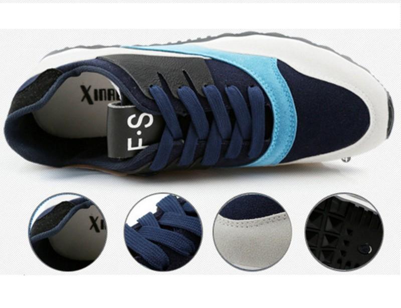 Giày thể thao nam phối mầu thời trang 3