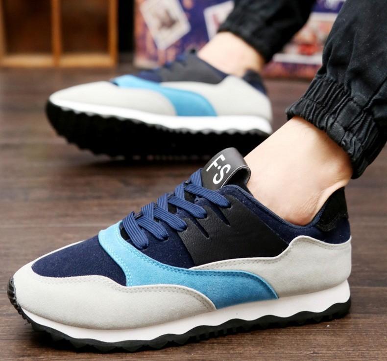 Giày thể thao nam phối mầu thời trang 1