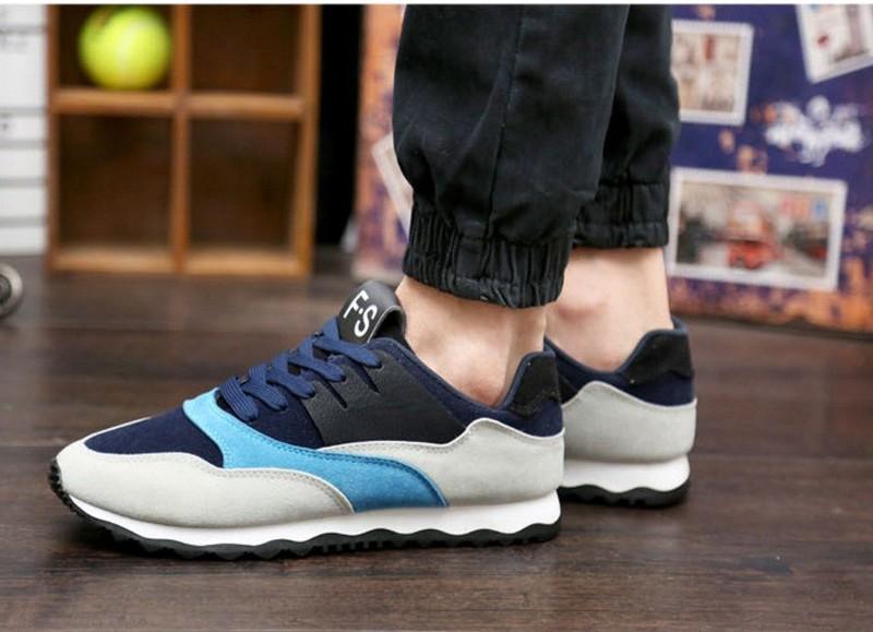 Giày thể thao nam phối mầu thời trang 8