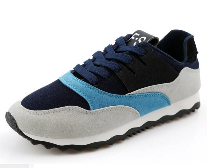 Giày thể thao nam phối mầu thời trang 2