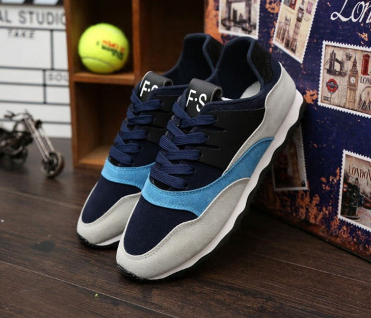 Giày thể thao nam phối mầu thời trang 5
