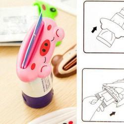 Combo 3 Dụng cụ kẹp tiết kiệm kem đánh răng kiểu dáng ngộ nghĩnh