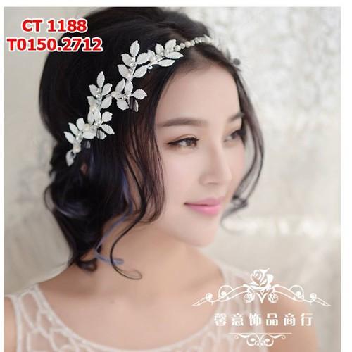 Cài tóc cô dâu hình lá - 4130991 , 4708363 , 15_4708363 , 150000 , Cai-toc-co-dau-hinh-la-15_4708363 , sendo.vn , Cài tóc cô dâu hình lá