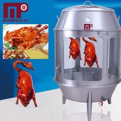 Lò quay vịt dùng than Mạnh Phát MP