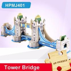Đồ chơi xếp hình ghép hình gỗ - 3D Jigsaw Puzzle Wooden Toys HPMJ401