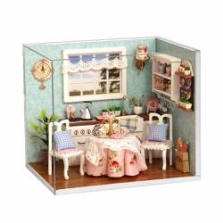 Đồ chơi mô hình nhà gỗ diy Cute Room H-008