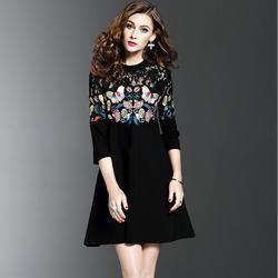 Đầm nữ họa tiết cực xinh DV374