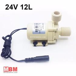 Máy bơm nước nóng mini 24V 12L 3M