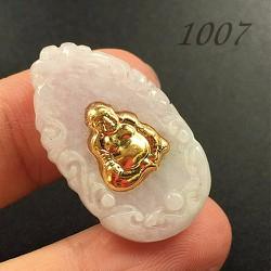 Mặt Dây Chuyền Vàng Ngọc Thạch Phật Di Lạc