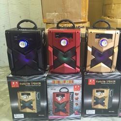 Loa Bluetooth Karaoke RX-302  tặng Micro có dây