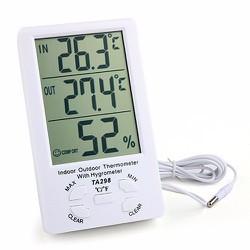 Màn hình đo nhiệt độ độ ẩm trong nhà và ngoài trời TA-298