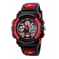 Đồng hồ cao cấp điện tử bé trai SKMEI SK094 Đỏ