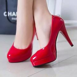 Giày cao gót bít mũi cao cấp - LN1037