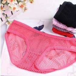 bộ 10 quần lót lưới thoáng mát Akio