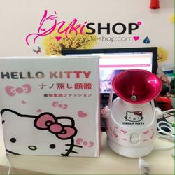 Máy Xông Hơi Da Mặt Hello Kitty - Trắng phối hồng