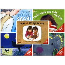 Bộ 5 cuốn Truyện Ehon Dành Cho Trẻ Từ 3 - 6 Tuổi