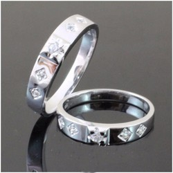 Nhẫn đôi trang sức King and Queen