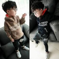 áo nỉ bé trai