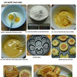 Máy làm bánh hình thú