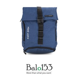 Balo đựng laptop 14inch Simplecarry Easy Open L.Navy