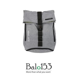 Balo đựng laptop 14inch Simplecarry Easy Open Grey