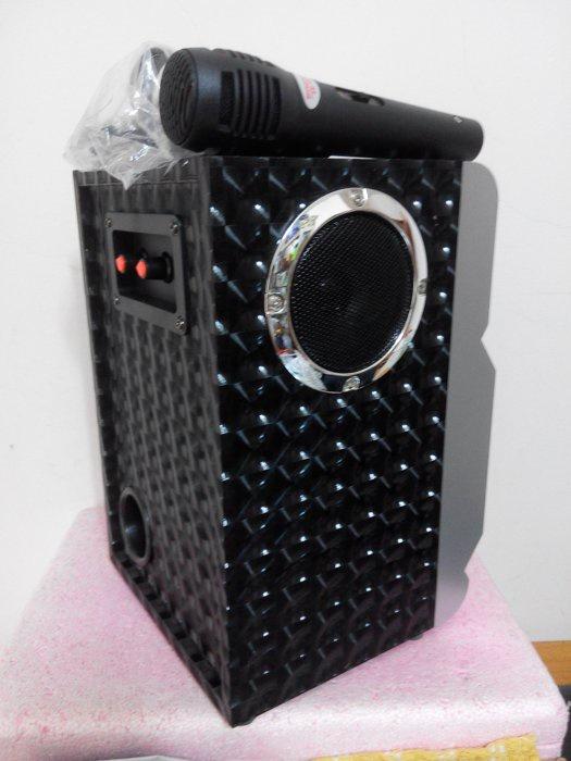 Loa Bluetooth Karaoke RX-302 Tặng Kèm Micro 11