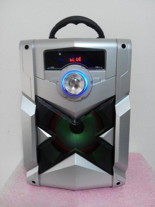 Loa Bluetooth Karaoke RX-302 Tặng Kèm Micro 12
