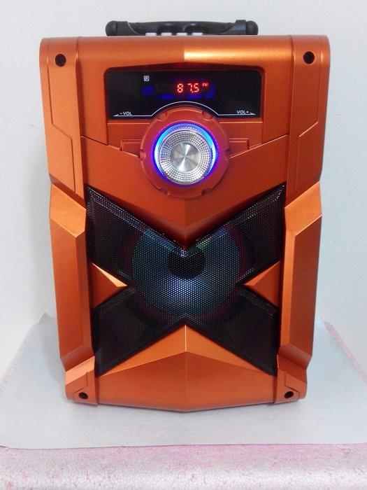 Loa Bluetooth Karaoke RX-302 Tặng Kèm Micro 7