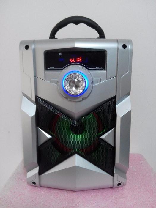 Loa Bluetooth Karaoke RX-302 Tặng Kèm Micro 9
