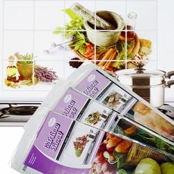 Combo 3 giấy dán chống nhiệt nhà bếp 74 x 44.5 cm
