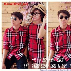 Set áo váy cặp đôi sọc Bbr sành điệu ATD127